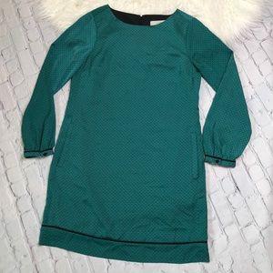 ANN TAYLOR LOFT•green dress
